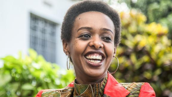 Diane Rwigara, a critic of Rwanda