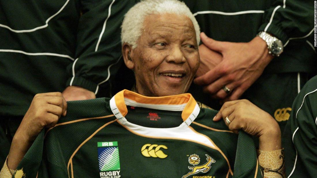 Cape Town Sevens: Blitzboks to wear jersey to honor Nelson Mandela - CNN