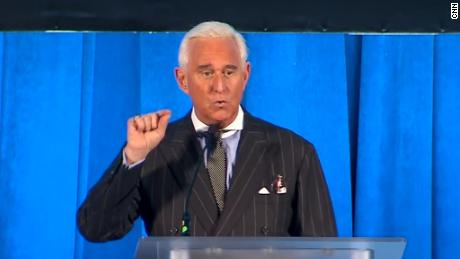 Roger Stone says he is not sharing information with the President's lawyers