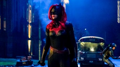 "Ruby Rose stars as ""Batwoman."""