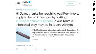 JUUL: How social media hyped nicotine for a new generation - CNN