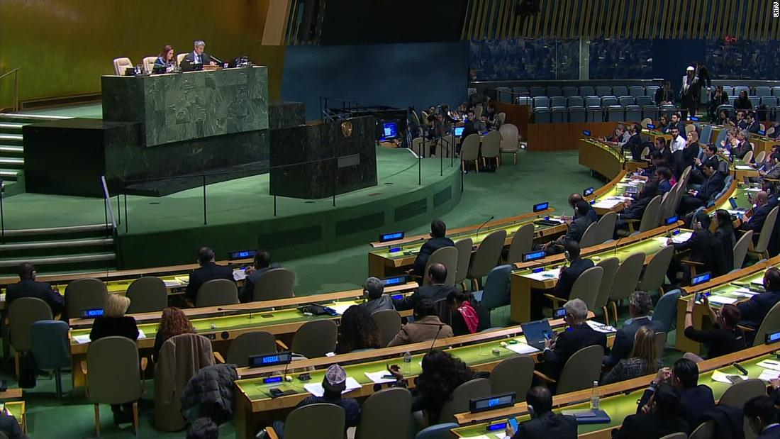UN rejects first attempt to condemn Hamas