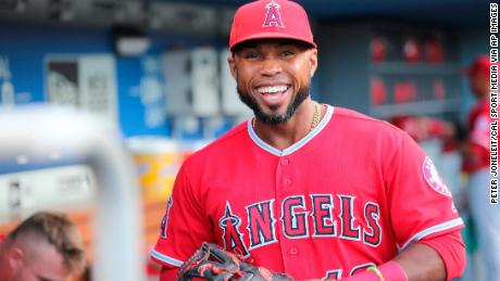 Former Los Angeles Angels player Luis Valbuena was a free agent and was playing winter ball in Venezuela.