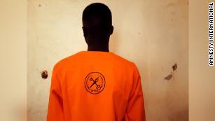 Un bambino nel braccio della morte del Sud Sudan