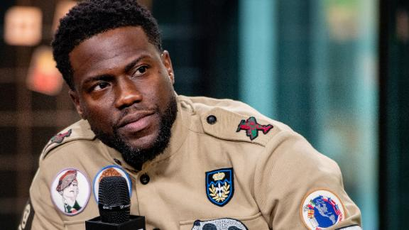 """NEW YORK, NY - SEPTEMBER 26:  Kevin Hart discusses """"Night School"""" with the Build Series at Build Studio on September 26, 2018 in New York City.  (Photo by Roy Rochlin/Getty Images)"""