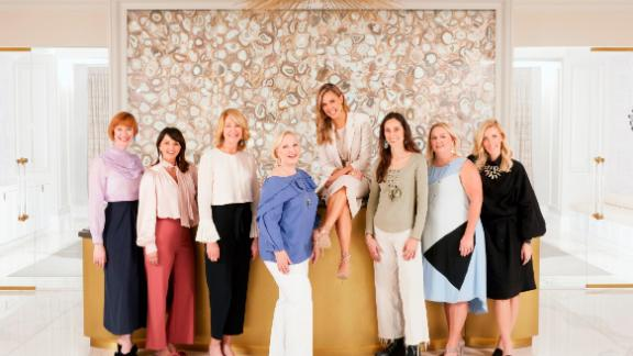 """Meet the """"super seven"""" -- a small team of women Kendra Scott has been working with since she started the company."""