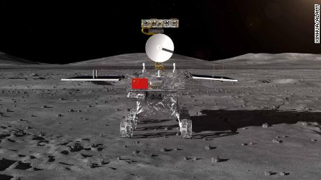 State media announced that the Chinese lunar probe is touching the far side of the moon