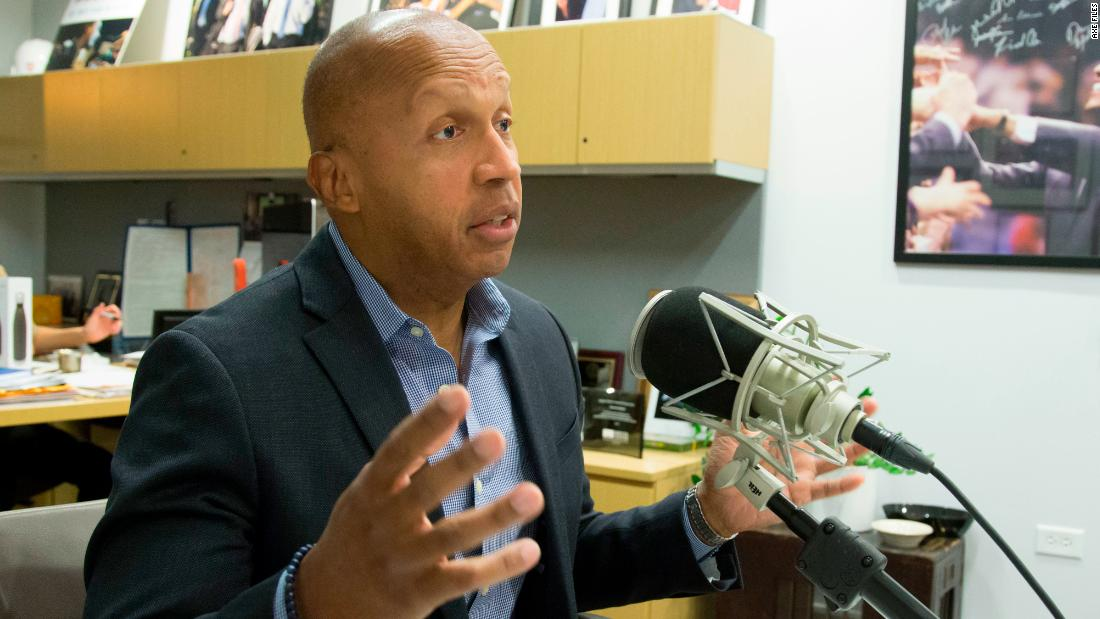 Bryan Stevenson says 'slavery didn't end in 1865, it just evolved'