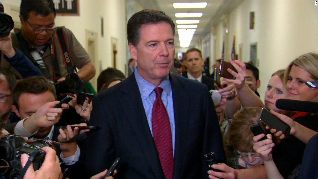 Comey says firing Mueller alone won't derail investigations
