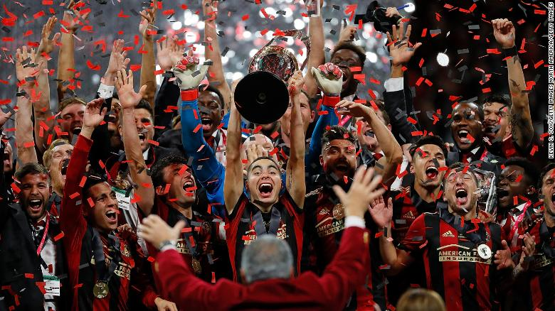 abec077709 Atlanta United wins MLS Cup in second season