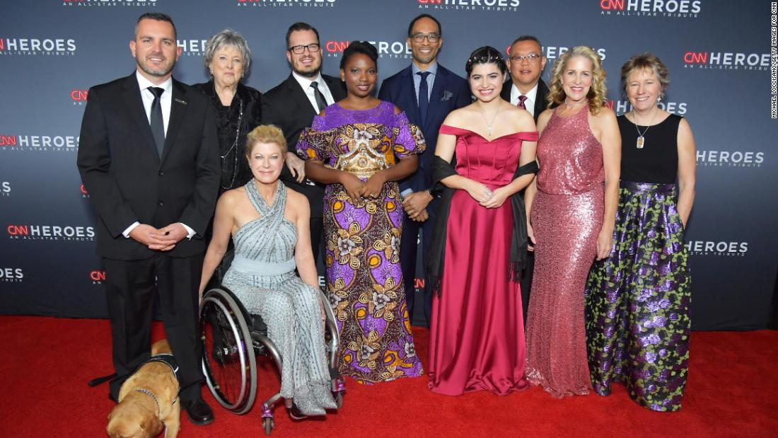 Best moments from 'CNN Heroes: An All-Star Tribute'