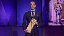 CNN Hero Dr. Rob Gore accepts an award onstage during the 12th Annual CNN Heroes: An All-Star Tribute at American Museum of Natural History on December 9, 2018 in New York City.