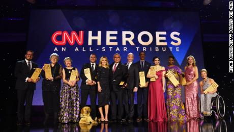 speaks onstage during the 12th Annual CNN Heroes: An All-Star Tribute  at American Museum of Natural History on December 9, 2018 in New York City.