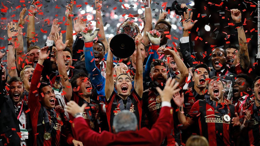 Ruta del desfile de la mafia de los fanáticos de Atlanta United para celebrar el primer título de la ciudad en 23 años