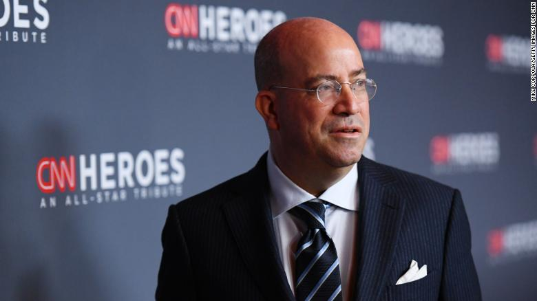 Jeff Zucker announces he will stay on at CNN through the end of the year