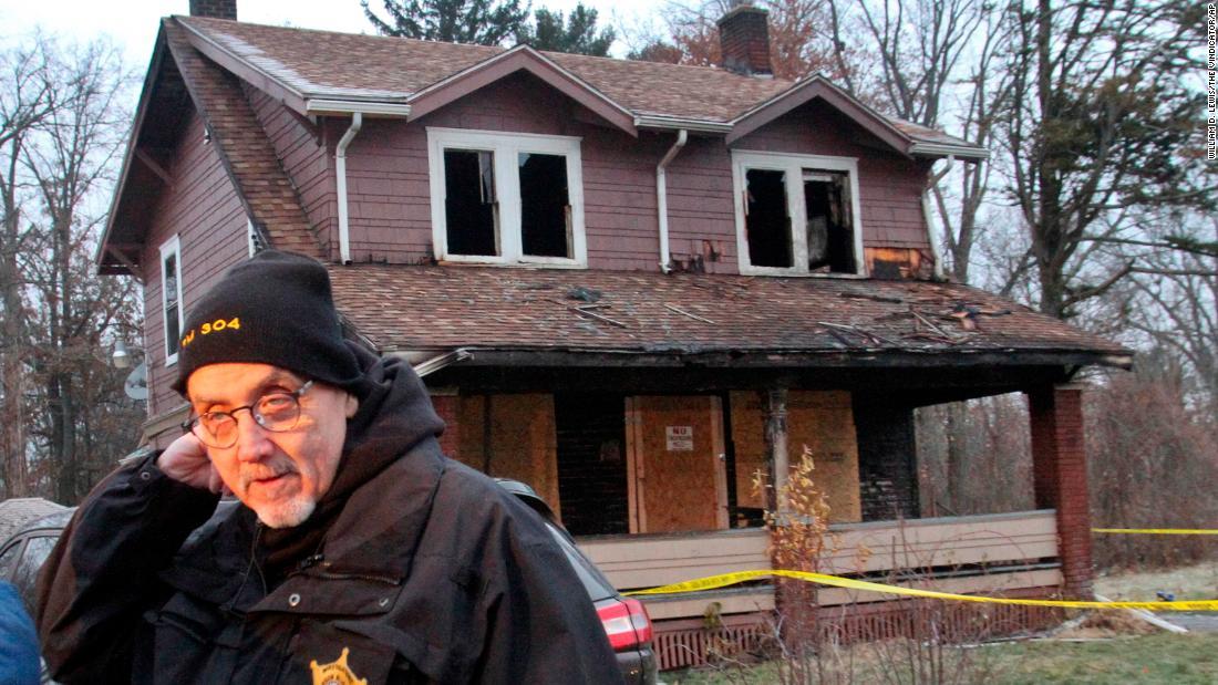 Five children die in a house fire in Ohio