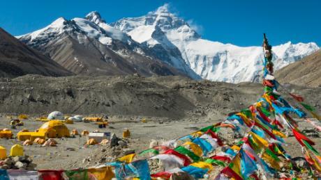 Kilian Jornet base camp Everest Summits of My Life
