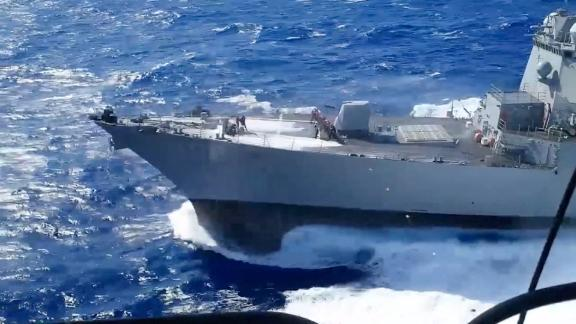 US moves to push back on Russian expansionism and Ukraine meddling with three moves: -- Ukraine flyover, Japan Sea sail-by, and possible Black Sea warship transit. Will this push back Putin?