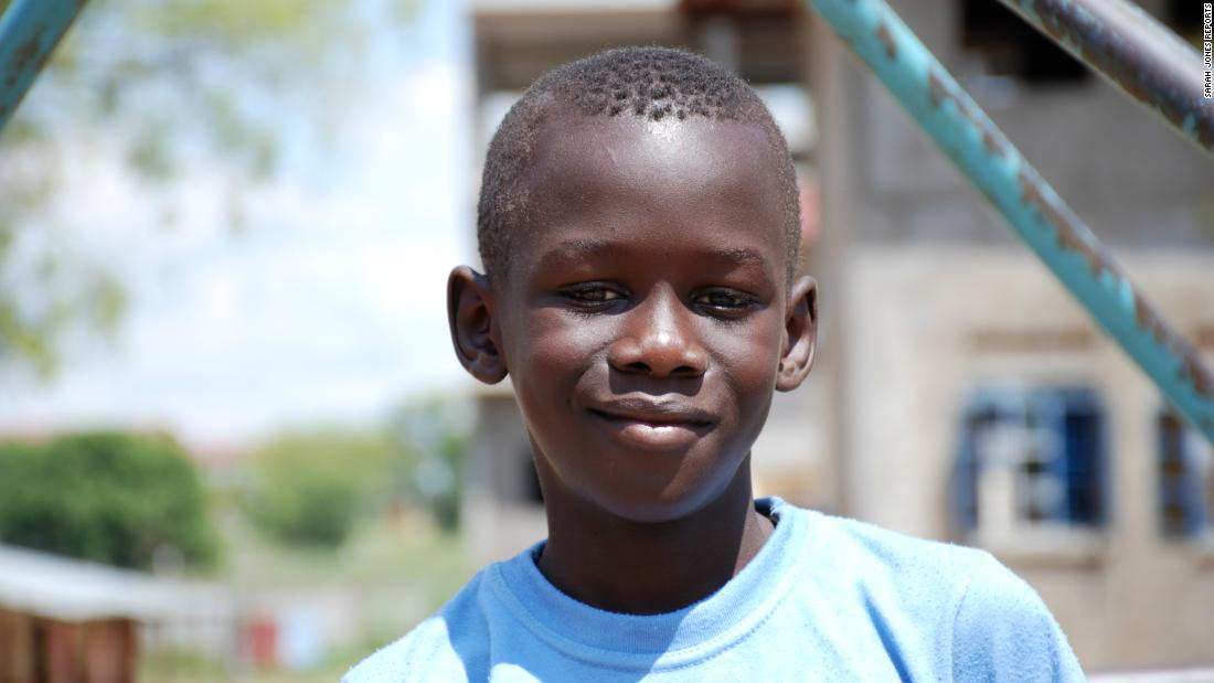 """South Sudan is actually a good country,"" says 7- year-old Ronnie Moses. He wants to be the Minister of Science and Technology when he grows older. ""I hope South Sudan may soon be a technology country."""