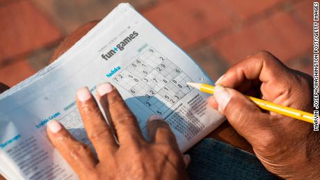 Crosswords and puzzles do not prevent mental decline, study says