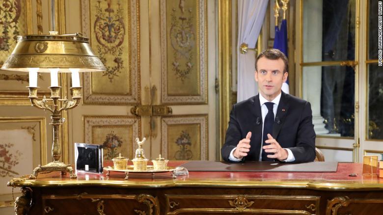 Pourquoi le demi-tour du président Macron est un avertissement pour les leaders du climat 181211131337-macron-nation-address-exlarge-169