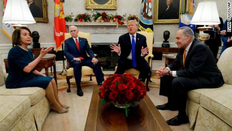 oval office images gold trumps heated meeting in the oval office cnn video
