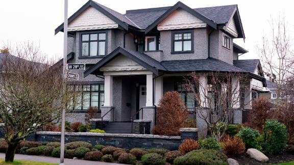 A Vancouver home reported to be owned by Meng Wanzhou and her husband.
