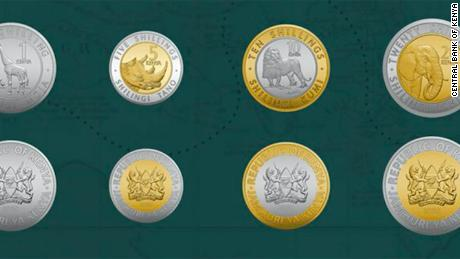 Kenya promotes wildlife heritage on new currency coins