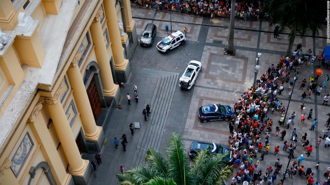 Brazil church shooting: Death toll rises to 5