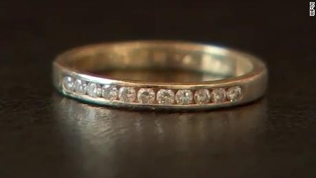 Paula Stanton lost this ring nine years ago in New Jersey.