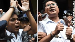 Jailed for exposing a massacre: Reuters journalists mark one year in Myanmar prison