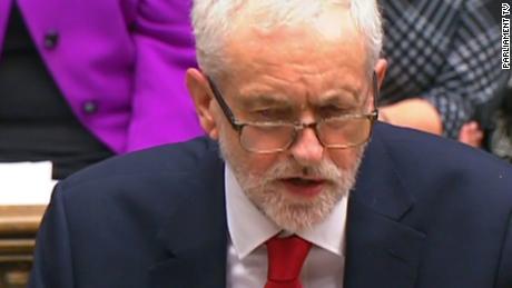 Corbyn slams May's behavior as 'contemptuous'