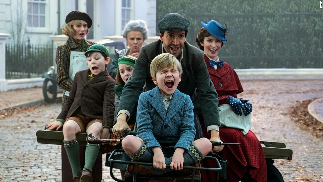 'Mary Poppins Returns' falls short of practically perfect