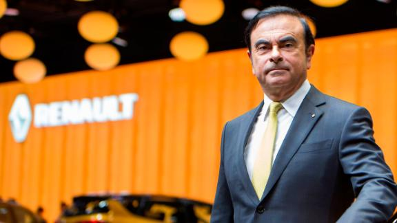 GENEVA, SWITZERLAND - MARCH 01:  Renault CEO Carlos Ghosn poses during the Renault press conference as part of the Geneva Motor Show 2016 on March 1, 2016 in Geneva, Switzerland.  (Photo by Harold Cunningham/Getty Images)