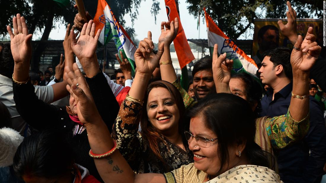 India's ruling party suffers major poll setback in state election battle