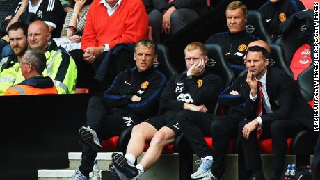 Neville was assistant to Ryan Giggs during the Welshman's tenure as interim Man Utd boss.