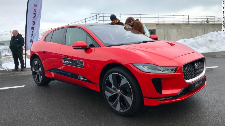 The Jaguar I-Pace is a fun-to-drive fully electric crossover.