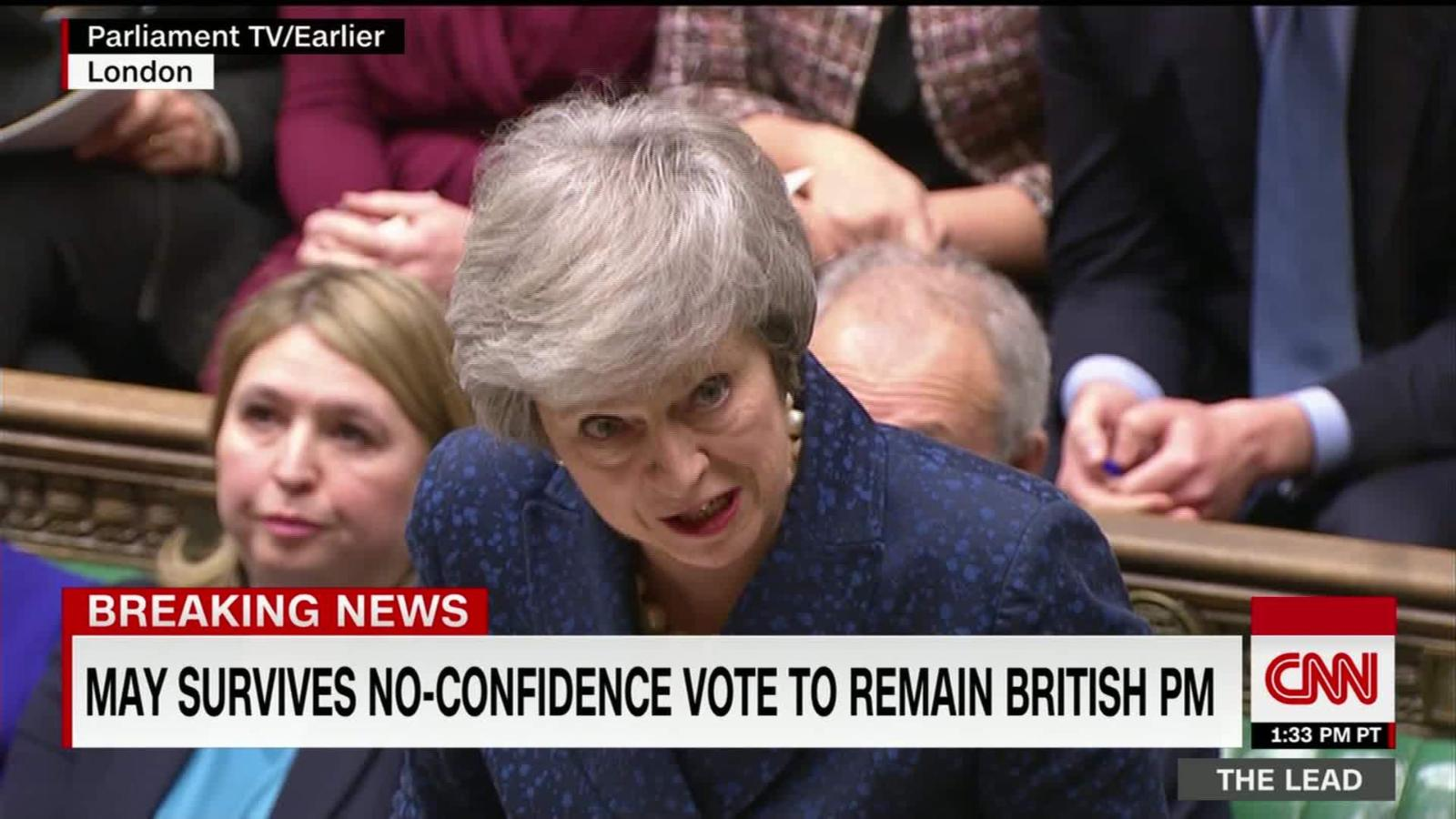 dbaec6610 EU tells May Brexit deal not up for renegotiation as wounded UK leader  seeks lifeline