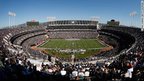 The Raiders have one game left at Oakland-Alameda Coliseum this season.