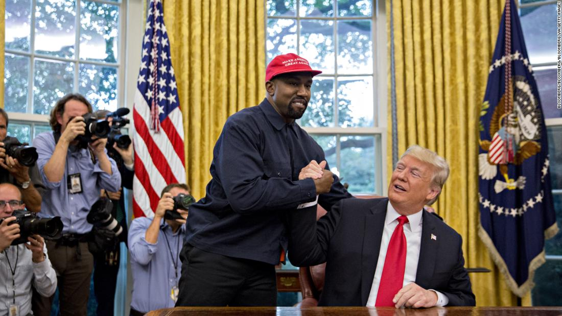 Kanye West says he no longer supports Trump and that he had coronavirus - CNN