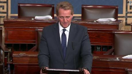 Jeff Flake goodbye Senate floor sot vpx_00005420