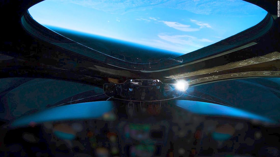 Virgin Galactic's supersonic plane reaches space