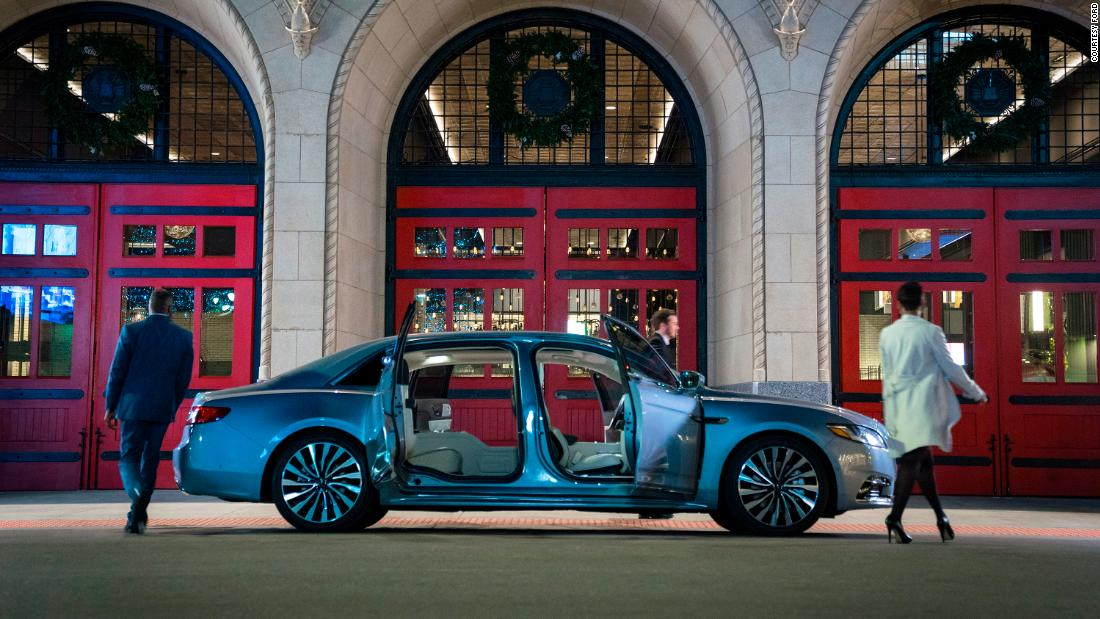 Lincoln Continental brings back 'suicide doors' - CNN thumbnail