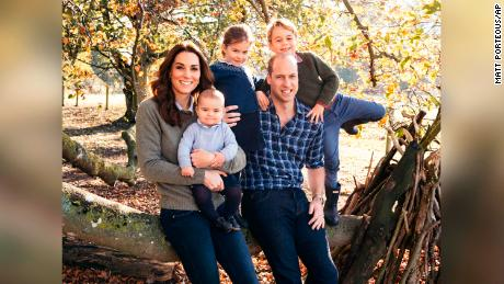 Royal Family Christmas Card 2019 See the Royal couples' Christmas card photos   CNN Video