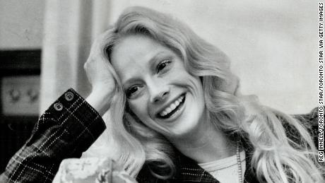 Sondra Locke is seen in a 1972 photo during a promotional trip to Toronto
