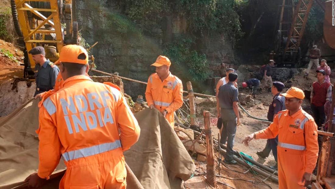 13 miners feared dead in India after being flooded in illegal mine