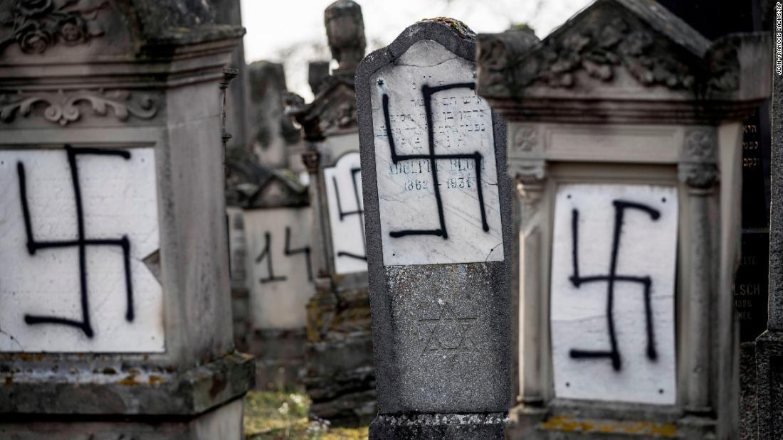 Jewish cemetery outside Strasbourg vandalized
