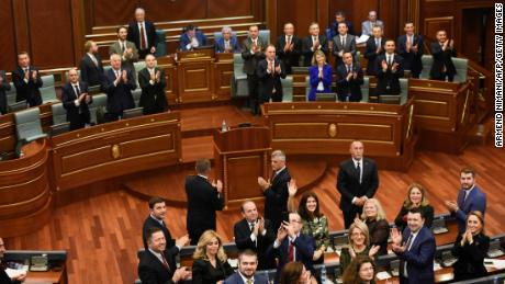 Kosovo lawmakers approve army, as tensions with Serbia rise