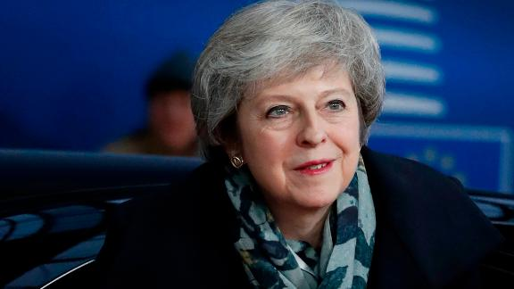 British Prime Minister Theresa May arrives on December 14, 2018 in Brussels during the second day of a European Summit aimed at discussing the Brexit deal, the long-term budget and the single market. - EU leaders will approve a modest list of euro single currency reforms on December 14 that are a far cry from the vast overhaul to the European project sought by France. (Photo by Alastair Grant / POOL / AFP)        (Photo credit should read ALASTAIR GRANT/AFP/Getty Images)