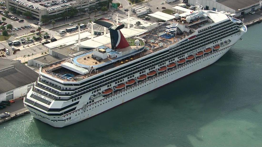 Coast Guard searching for cruise ship passenger who went overboard off Florida
